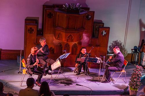Concert de l'Ensemble Les Soli d'Air pour le 10ème anniversaire d'Essonne Active
