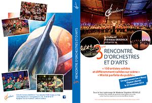 Sortie du DVD de la 3ème rencontre d'orchestres et d'arts du 23 novembre 2014 à Massy