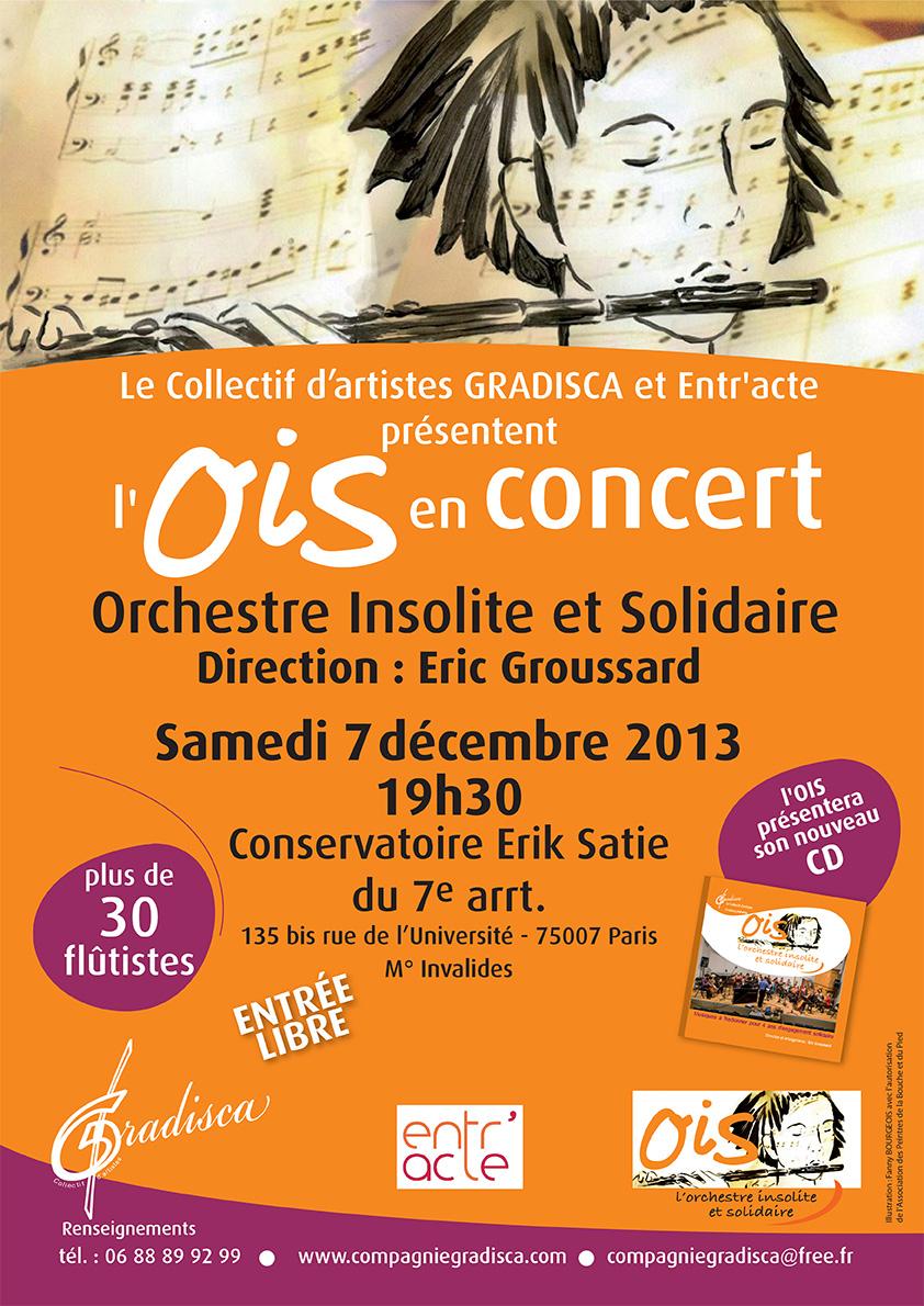 L'OIS en concert et présentation de son premier CD