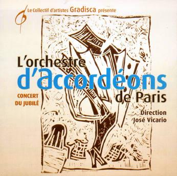 L'ORCHESTRE D'ACCORDEONS DE PARIS - Musiques de Piazzola, Debussy, Nougaro...
