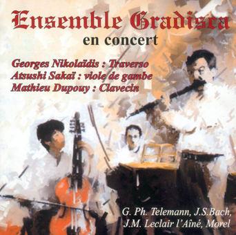 ENSEMBLE GRADISCA en concert - Musique baroque