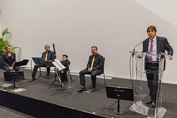 Concert de sensibilisation au handicap par l'Ensemble Les Soli d'Air à COLAS
