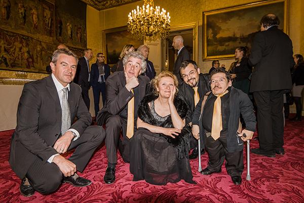 L'Ensemble Les Soli d'Air joue au Sénat pour la remise du Trophée National de l'Entreprise Citoyenne 2016
