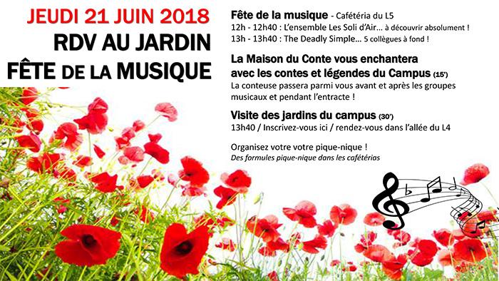 Concert de sensibilisation au handicap pour la Fête de la Musique à l'OREAL