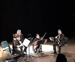Concert de l'Ensemble Les Soli d'Air pour Dassault Aviation