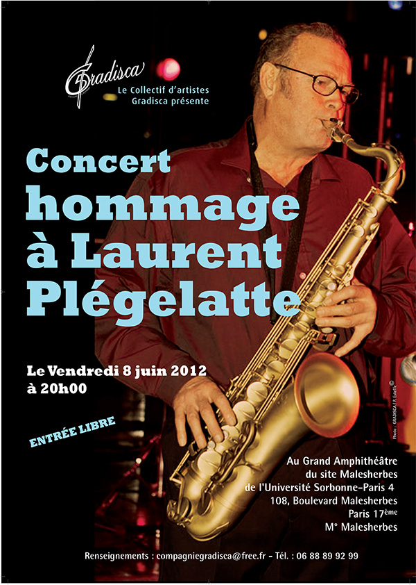 Concert en hommage à Laurent Plegelatte