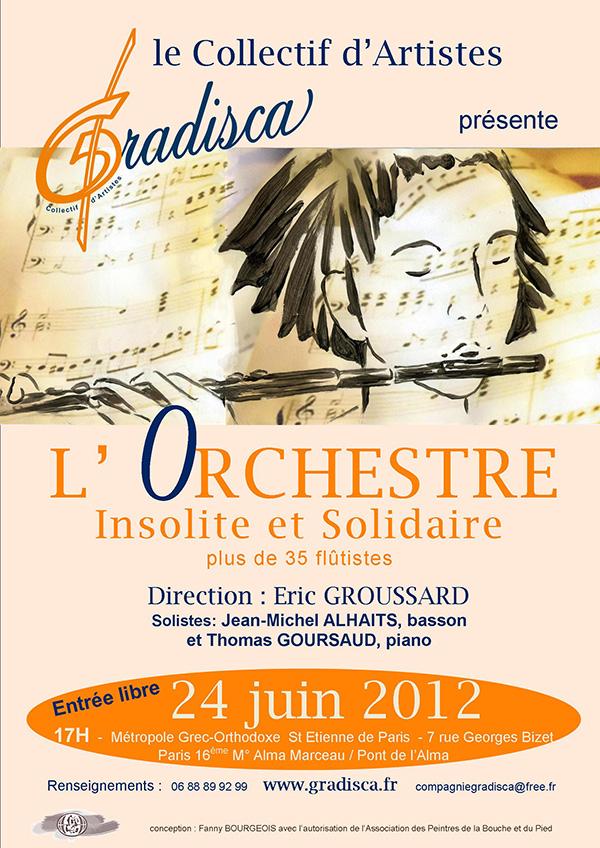Concert de l'Orchestre Insolite et Solidaire
