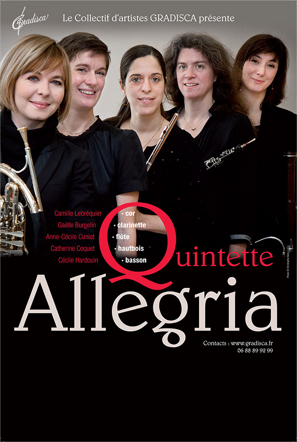 Concert du Quintette Allegria